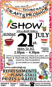 Craft and Produce Show @ Village Hall