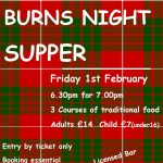 Burns ~Night Supper