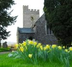 St Nicholas Church in Spring