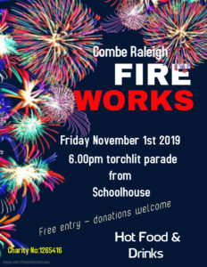 Bonfire Night and Fireworks @ Torchlit Parade from outside School House