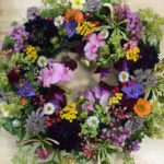 Summer show Floral wreath